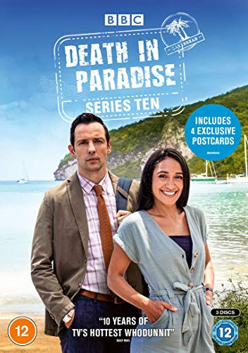 Death In Paradise - Series 10 (Includes 4 Exclusive Postcards) [DVD] [2021]
