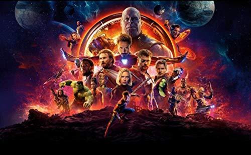 Mural Wallpaper Avengers Photo Marvel Wallpaper Hd 3d Heroes Photo Capitán América Iron Man Thor Mural De Pared Boyrestaurant Bar Dormitorio Sala De Estar Diseñador