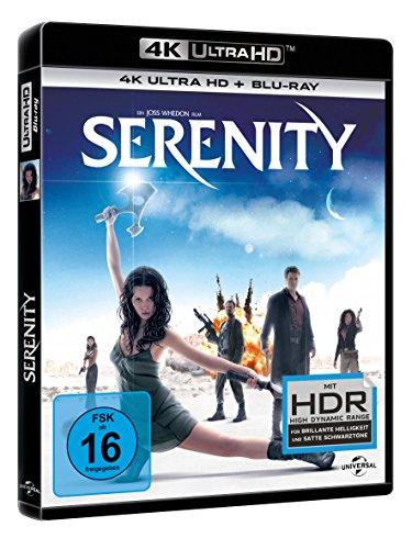 Serenity - Flucht in neue Welten (4K Ultra HD + Blu-ray)