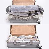 Zoom IMG-1 sacchi sottovuoto salvaspazio premi forte