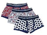 The Pyjama Party Calzoncillos bóxer de algodón para niños, 3 unidades, cintura elástica, ropa interior