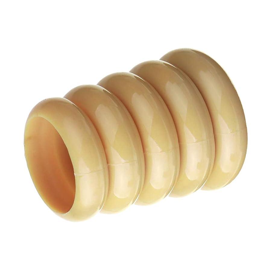 アンペア酔っ払い発生F Fityle メイクアップブラシホルダー 化粧品容器 ネイルペンホルダー ネイルアート ネイルデザイン用 全3色 - ベージュ