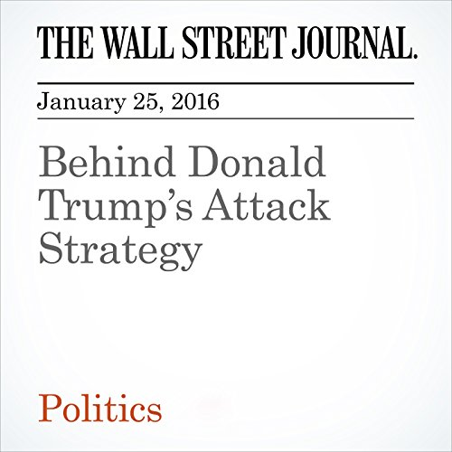 Behind Donald Trump's Attack Strategy cover art