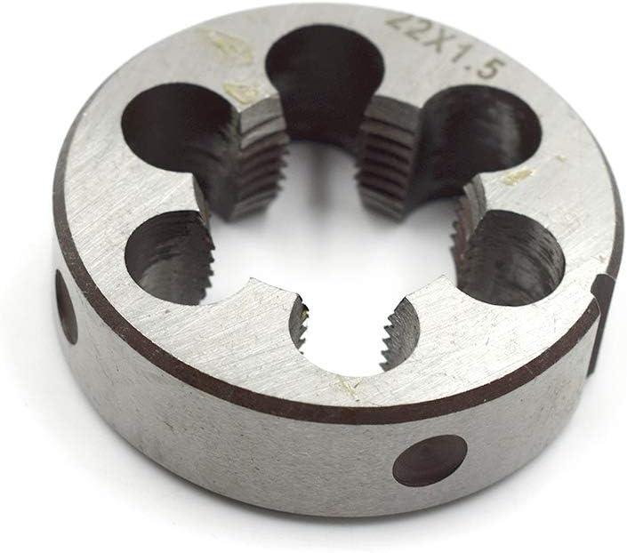 M22 x 1.5 HSS Nitride Finish Metric Right Hand Plug Tap M22x1.5 USA Brubaker 3
