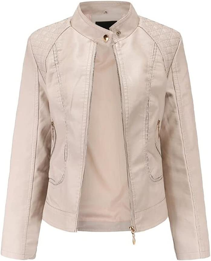 HBIN Challenge the lowest price of Japan Spring and Autumn Women's Sale item Leather European Jackets Amer
