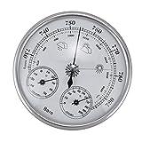 ZGQA-GQA Medidores de presión montado en la pared termómetro del hogar higrómetro alta precisión medidor de presión aire clima instrumento barómetro