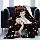 Blanket 50'X40' Soft Flannel Bedding Throw Blankets Plush Cozy Throws for Sofa Couch Bed Chair Living Room Cute Micro Fleece Blankets