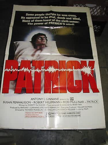 PATRICK ORIG. U. S. ONE OFFicial site SHEET POSTER MOVIE outlet SUSAN PENHALIGON