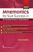 Mnemonics for Sure Success in PG Medical Entrance Examinations