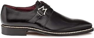 حذاء Mezlan Paden - أحذية رجالية فاخرة مع إبزيم جانبي، مصنوعة يدويًا في إسبانيا، مصنوعة من الجلد، للمشي لمسافات طويلة