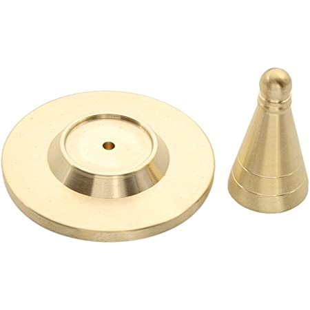 Copper Incense Cone Tower Mould Tool for Metalware Religious DIY Craft Mold