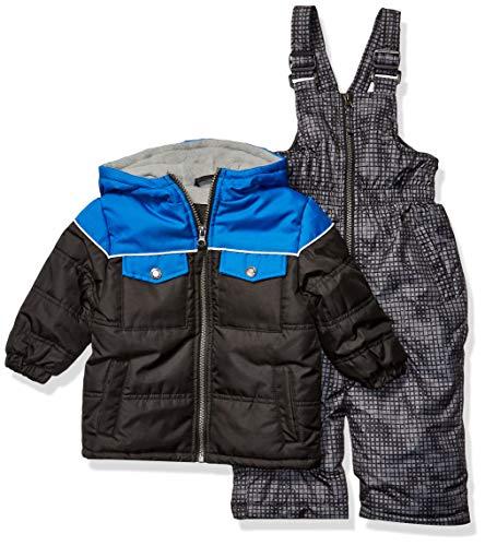 iXtreme Baby Boys Snowsuit, Black/Blue, 12M