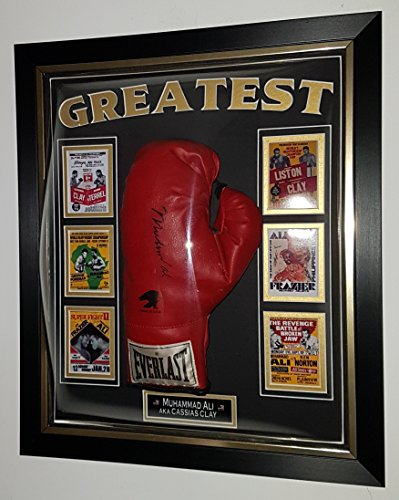 Muhammad Ali Autogramm-Handschuh, signiert