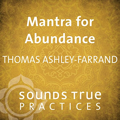 Mantra for Abundance audiobook cover art