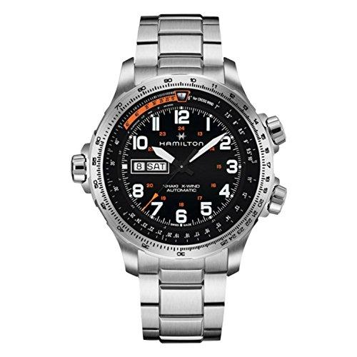 Hamilton Reloj de hombre automático 45mm correa y caja de acero H77755133