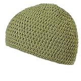 (カジュアルボックス)CasualBox ビックサイズ:ナチュラル手編みコットンイスラムキャップ【Lサイズ】 大きめサイズ ビックワッチ (カーキ) [ウェア&シューズ] メンズ レディース 帽子 Charm チャーム