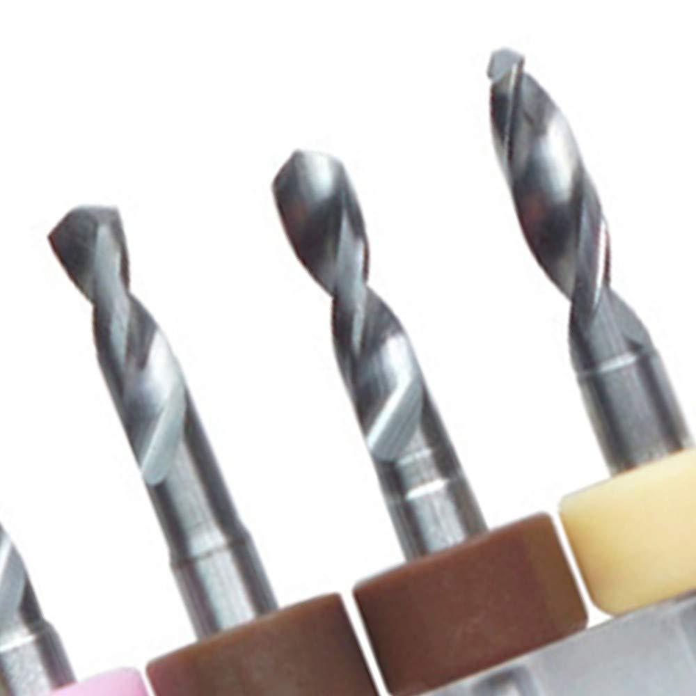 2.1-3.0mm 1.6-2.5mm//2.1-3.0mm PCB Printed Circuit Board Drill Bit Tungsten Steel CNC Engraving Drill Bits Set 10Pcs Carbide Micro Drill Bit