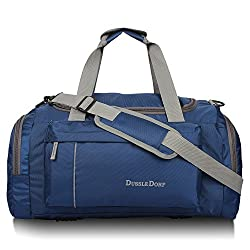 Dussle Dorf Polyester 40 Liters Blue Travel Duffel Bag,R and R Inc,TV-0718