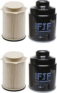 iFJF Fuel Filter/Water Separator for Dodge Ram 2500 3500 4500 5500 6.7L Cummins Turbo Diesel Engines 68197867AA 68157291AA(Set of 2)