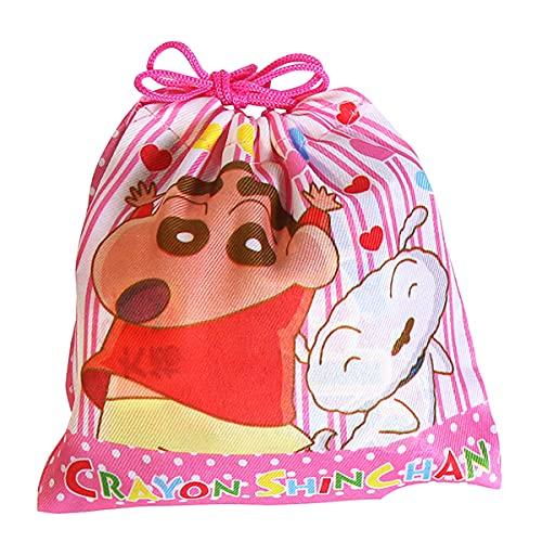 クレヨンしんちゃん巾着袋 300円A お菓子 詰め合わせ(5コ入)駄菓子 袋詰め おかしのマーチ (omtma7441)