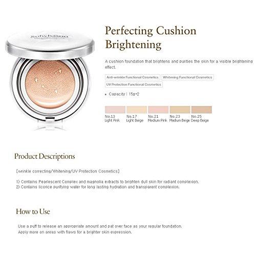 Sulwhasoo Perfecting Cushion Brightening, No. 17 Light Beige