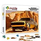 Rompecabezas de 1000 piezas para adultos Transformers 4 Extinct Rebirth Bumblebee Classic Car Puzzle 1000 piezas Juego de rompecabezas de juguete Decoraciones y regalos únicos para el hogar 75x50cm