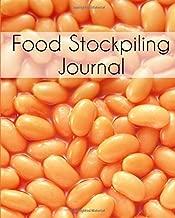 Food Stockpiling Journal: Prepping Preserving Canning Notebook Planner