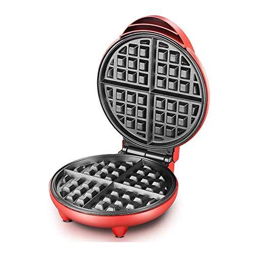 LIANGANAN Mini Fabricante de Pasteles eléctricos de Waffle Maker Que Hace 7 Tortitas de Diferentes Formas Listas en Menos de 5 Minutos para el Desayuno, el Almuerzo o los bocadillos zhuang94