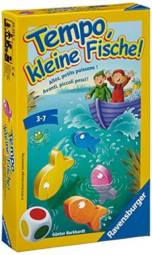 Ravensburger 233342- Tempo, kleine Fische - Kinderspiel/ Reisespiel