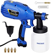 Hausse Paint Sprayer, HVLP High Power Home Electric Paint Gun, Lightweight, Easy to Clean, Ideal for Furniture, Decks, Fence, Car, Bicycle, Chair