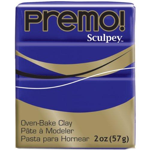 Sculpey Premo ofenhärtende Modelliermasse, violett, Purple
