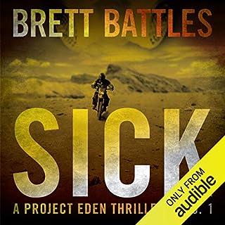 Sick audiobook cover art
