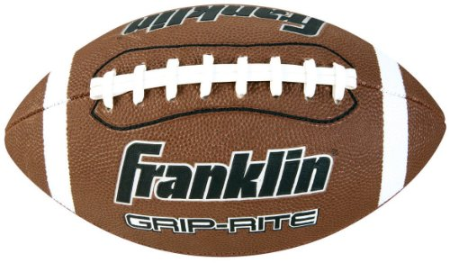 Franklin Sports Grip-Rite Official Size Football, Pump and Tee Set