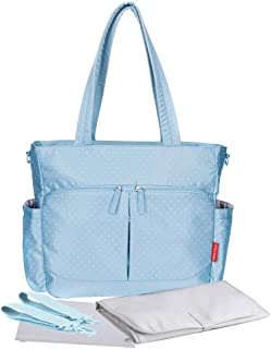 Little Story Westchester Diaper Bag with Stroller Hooks and Nappy Changing Mat   Large Capacity Nappy Baby Bag   Travel Be...
