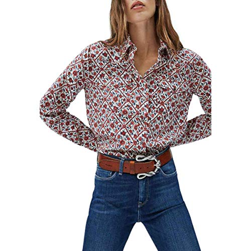 Pepe Jeans Damen Bluse ANNIE, 0aa, Large
