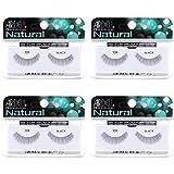 Ardell Natural Lashes False Eyelashes 109 Black (4 pack)
