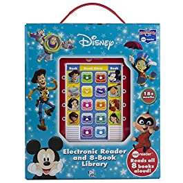 Disney – Mickey Mouse, Toy Story and More! Me Reader Electronic Reader 8 Sound Book Library- PI Kids