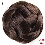 FORUU Wigs, 2020 Valentine's Day Surprise Best Gift For Girlfriend Lover Wife Party Under 5 Free delivery Pretty Woman Girl Ponytail Holder Hairpiece Wig Hair Ring Bun