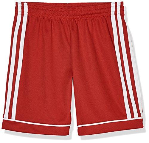 adidas Squadra 17 S, Short Unisex Bambini, Rosso (Power Red/White), 5-6 Y