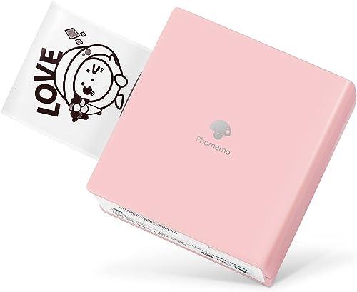 Phomemo M02 Mini Imprimante Bluetooth Imprimante Thermique Portable Imprimante Photo Mobile Compatible avec Android e...