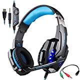 Gaming Headset for Playstation 4 Tablet PC Mobilephones iPhone 6/6s/6...