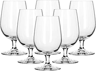 Ocean Madison Water Goblet Glass, Pack of 6, Clear, 425 ml, 015G15