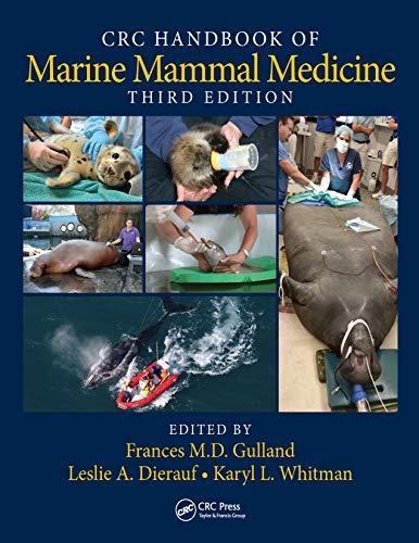 CRC Handbook of Marine Mammal Medicine (English Edition)