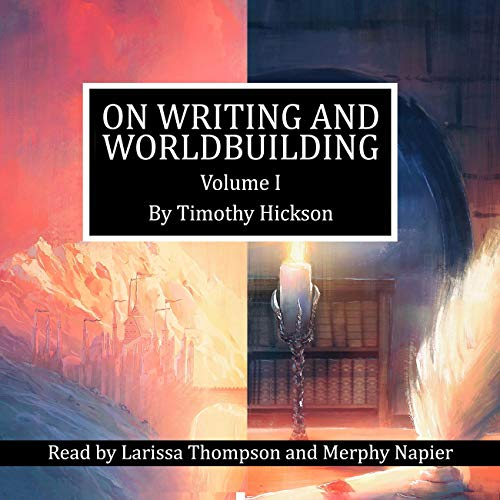 Couverture de On Writing and Worldbuilding - Volume I