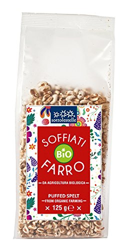 Sottolestelle Farro Soffiato - 8 confezioni da 125gr - Totale 1 kg