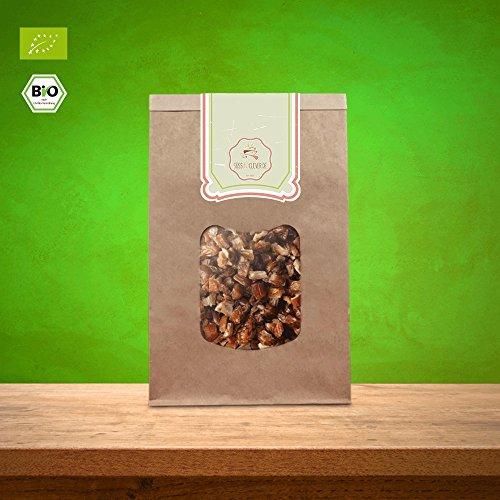 süssundclever.de® Bio Datteln | gehackt | Rohkost | 1 kg | Deglet Nour | plastikfrei und ökologisch-nachhaltig abgepackt