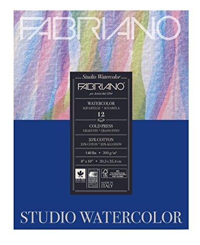 Studio Watercolor Paper Pad