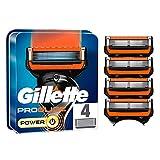 Gillette ProGlide Power - Cuchillas de afeitar para hombre (4 unidades)