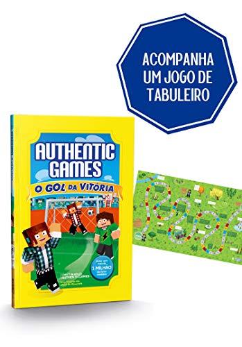 Authentic Games. O Gol da Vitória Volume 7 + Um Super Jogo de Tabuleiro