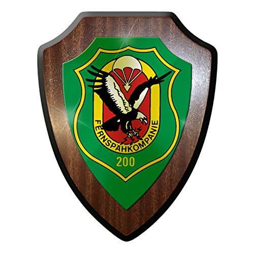 Wappenschild - FeSpähKp Fernspähkompanie 200 Spezialkräfte Pfullendorf #9261